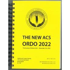 The New ACS Ordo - Spiral Bound 2022